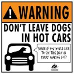Please Don't Leave Your Dog in a Hot Car!