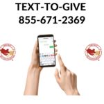 New! Text-To-Give!